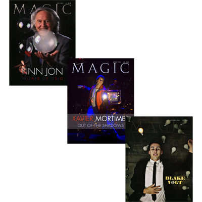 Magic Magazine 3-month Set - July, Aug, Sept 2014 - Book