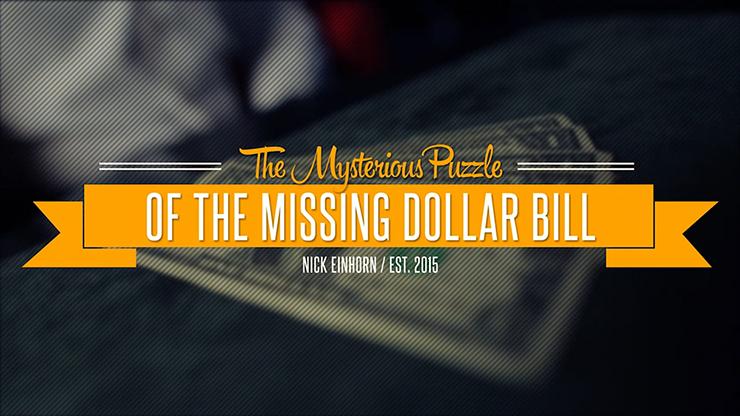 Missing Dollar - Nicholas Einhorn VIDEO DESCARGA