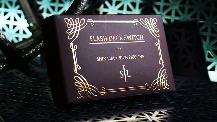 Flash Deck Switch 2.0 (Improved / Red) by Shin Lim - Trick