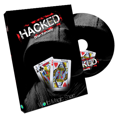 Hacked (DVD & Gimmick) - Brian Kennedy - DVD