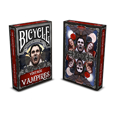Bicycle Vintage Vampires Playing Card - Trick
