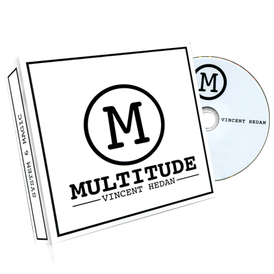 Multitude (DVD & Gimmicks) Red by Vincent Hedan and System 6