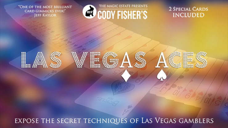 Vegas Aces (Online Instructions & Gimmicks) by Cody Fisher