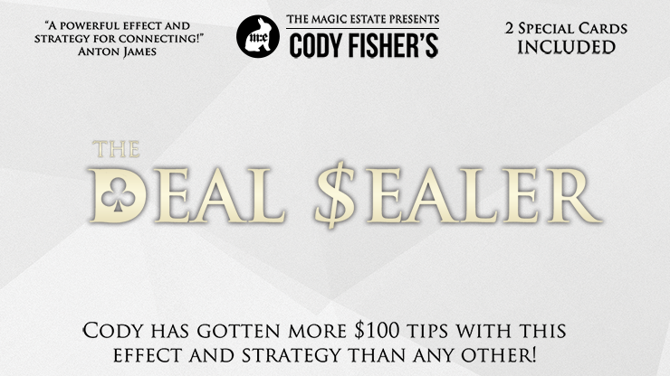 Deal Sealer (DVD & Accesorios) - Cody Fisher