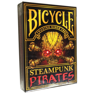 Bicycle Steampunk Pirates Deck by Nat Iwata  - Trick