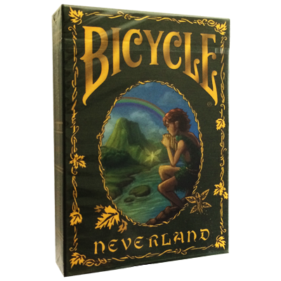 Bicycle Neverland Deck by Nat Iwata  - Trick