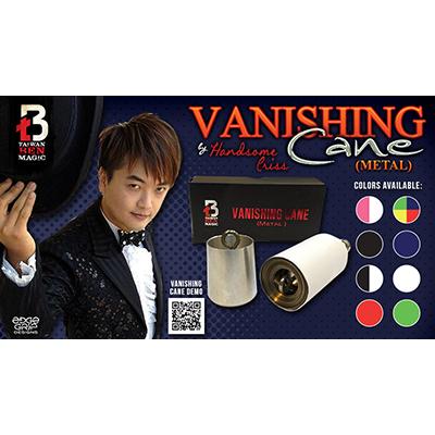 Vanishing Cane (Metal | Red & White Stripes)