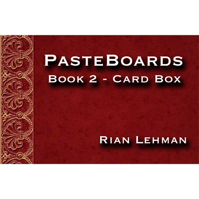 Pasteboards (Vol.2 Cardbox) by Rian Lehman Video DOWNLOAD