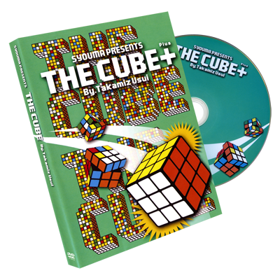 The Cube PLUS (Gimmicks & DVD) by Takamitsu Usui