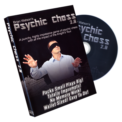 Psychic Chess 2.0 (DVD & Gimmicks) by Brian Watson