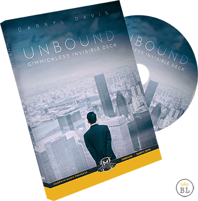 Unbound: Gimmickless Invisible Deck - Darryl Davis - DVD