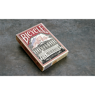 Cartas Bicycle US President (Rojo) - Cartas Bicycle de Coleccion