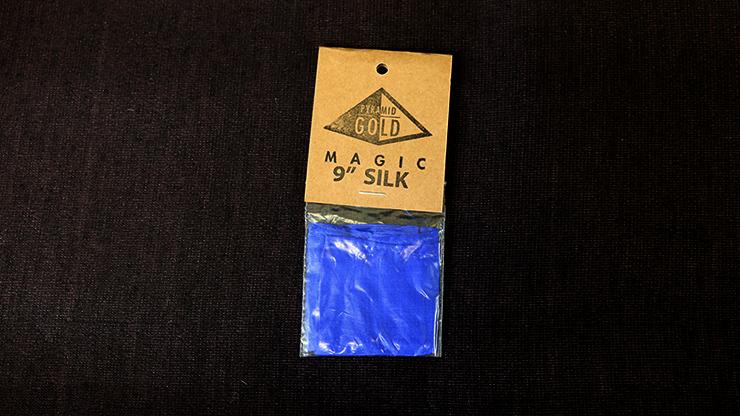 Silk 9 inch (Royal Blue) by Pyramid Gold Magic
