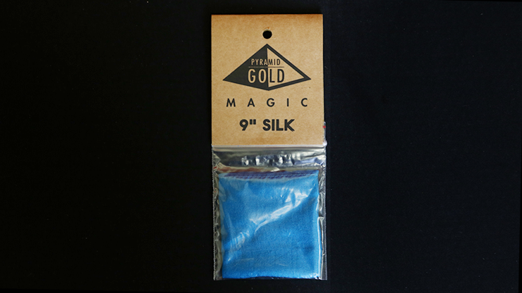 Silk 9 inch (Teal) by Pyramid Gold Magic