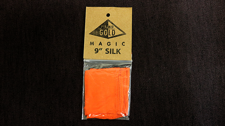 "Silk 9"" (Orange) by Pyramid Gold... MagicWorld Magic Shop"