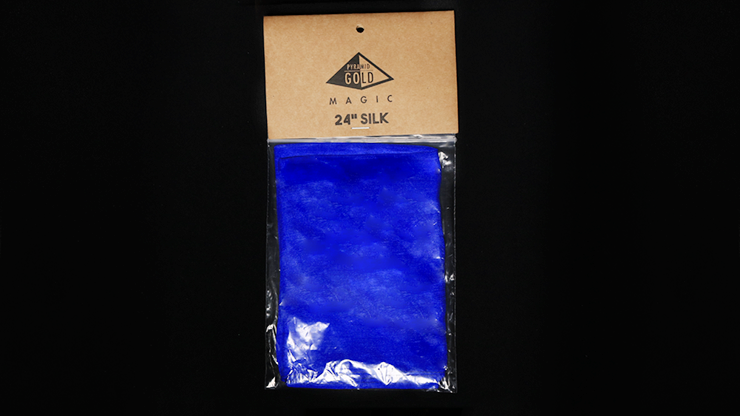 Seda para Trucos de Magia 24 pulgadas (Royal AZUL) - Pyramid Gold Magic