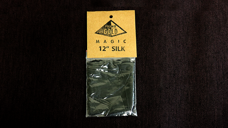 Silk 12 inch (Black) by Pyramid Gold Magic