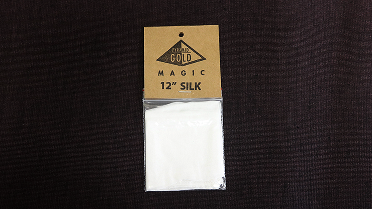 "Silk 12"" (White) by Pyramid Gold... MagicWorld Magic Shop"