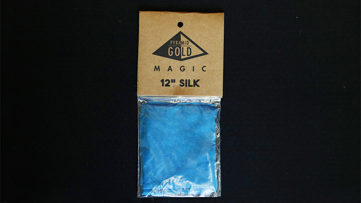 Silk 12 inch (Teal) by Pyramid Gold Magic
