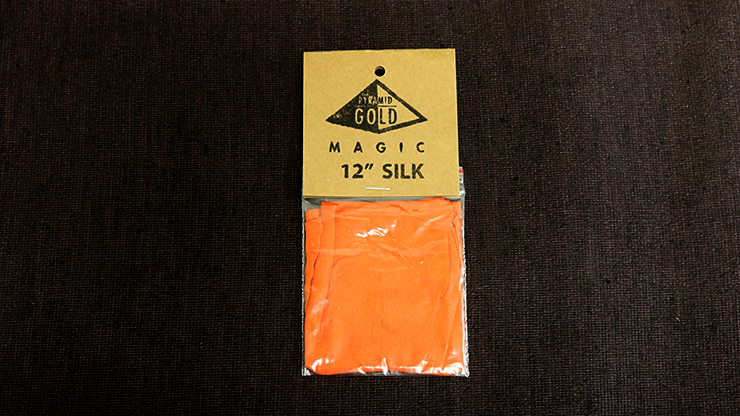 "Silk 12"" (Orange) by Pyramid Gold... MagicWorld Magic Shop"