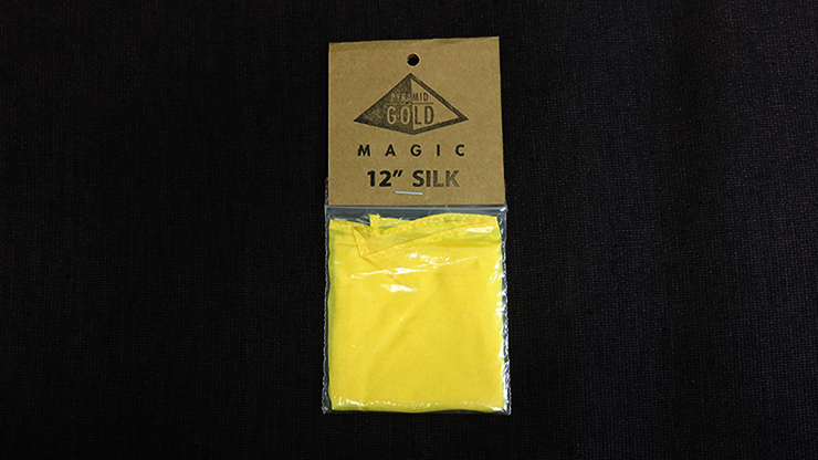 Silk 12 inch (Yellow) by Pyramid Gold Magic