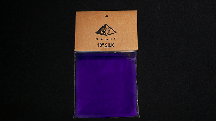Silk 18 inch (Purple) by Pyramid Gold Magic