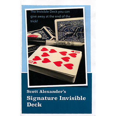 Signature Invisible Deck