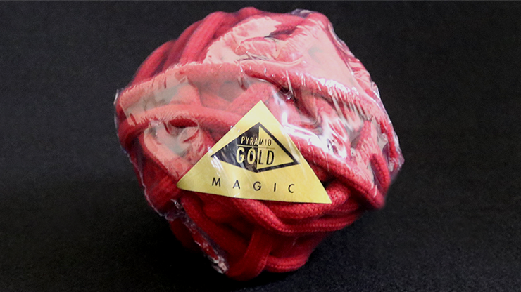 Cuerda para Magia Suave 1.27 Metros (Rojo) - Pyramid Gold Magic