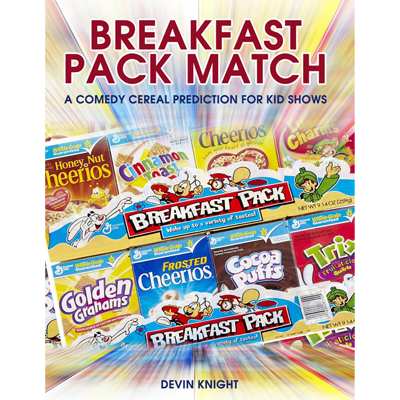 Breakfast Pack Match (Mentalism for Kids) - Devin Knight - - eBook