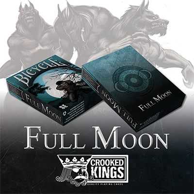 Cartas Bicycle Werewolf Full Moon Playing Cards (Special Edition)