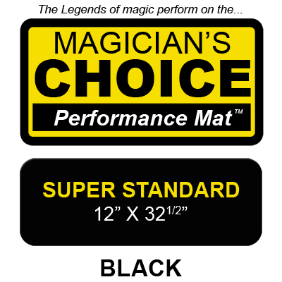 Tapete Magia Close-Up Bartenders Choice (Negro Super Standard - 30.48 x 82.55 cm) - Ronjo