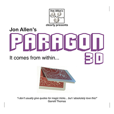Paragon 3D (DVD and Gimmick) by Jon Allen