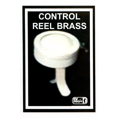 Control Reel (Brass) by Mr. Magic - Trick