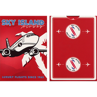 Sky Island Deck (Red) by The Blue Crown