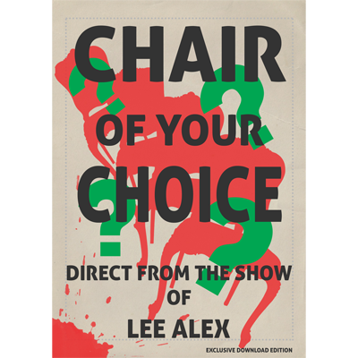 Chair Of Your Choice by Lee Alex eBook DOWNLOAD