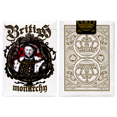 King Henry VIII (Limited Edition) British Monarchy Playing Cards by LUX Playing Cards