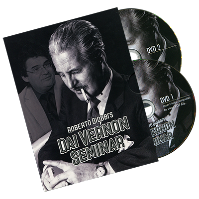The Vernon Seminar (2 DVD Set) - Roberto Giobbi - DVD