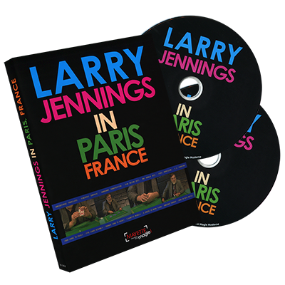 Larry Jennings in Paris, France (2 DVD set)