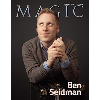 """Magic Magazine """"Ben Seidman"""" August 2015 - Book"""