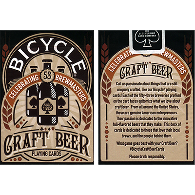 Bicycle Craft Beer Deck - US Playing Card Co