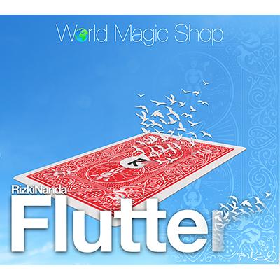 Flutter (DVD & Gimmick) - Rizki Nanda & World Magic Shop - DVD