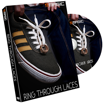 Ring Through Laces (Gimmicks and instruction)