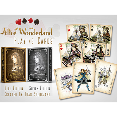 Alice of Wonderland Gold by Gamblers Warehouse