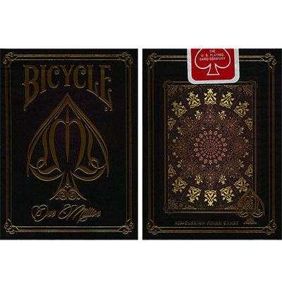 Bicycle One Million Deck (Rojo) - Elite Playing Cards