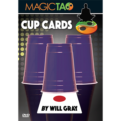 Cup Cards (DVD and Gimmick) by Will Gray and Magic Tao - DVD