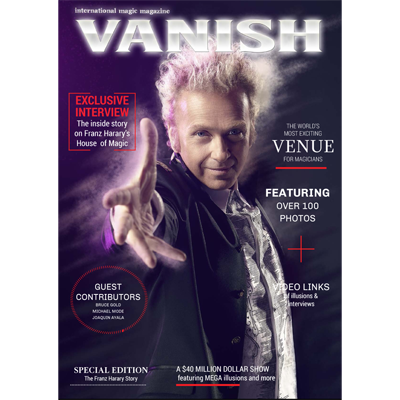 VANISH Magazine - Paul Romhany (FRANZ HARARY SPECIAL) - eBook