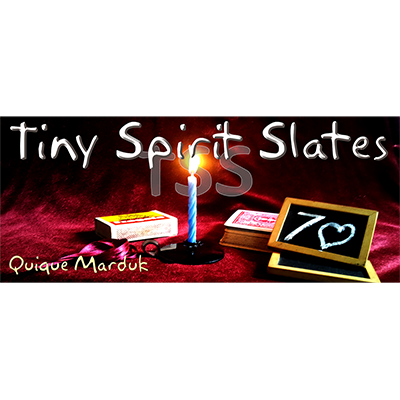Tiny Spirit Slates by Quique Marduk