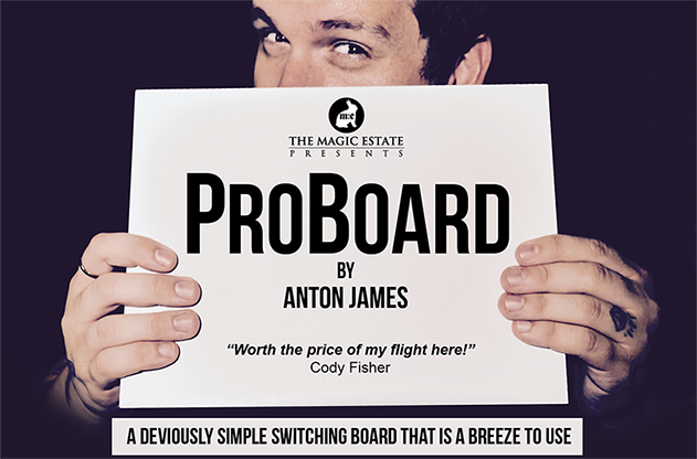 PRO BOARD by Anton James and the Magic Estate - Trick
