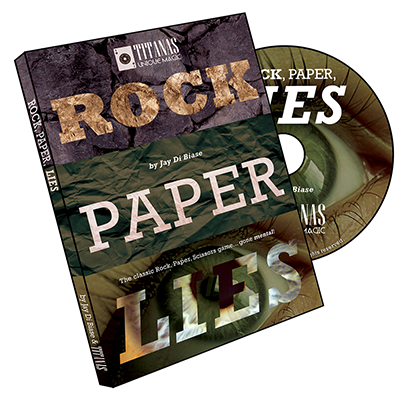 Rock, Paper, Lies - Jay Di Biase & Titanas Magic Productions - DVD