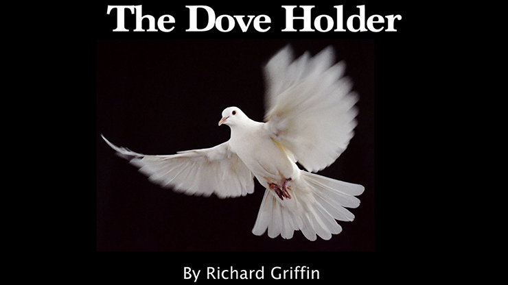 Dove Holder (Red) by Richard Griffin